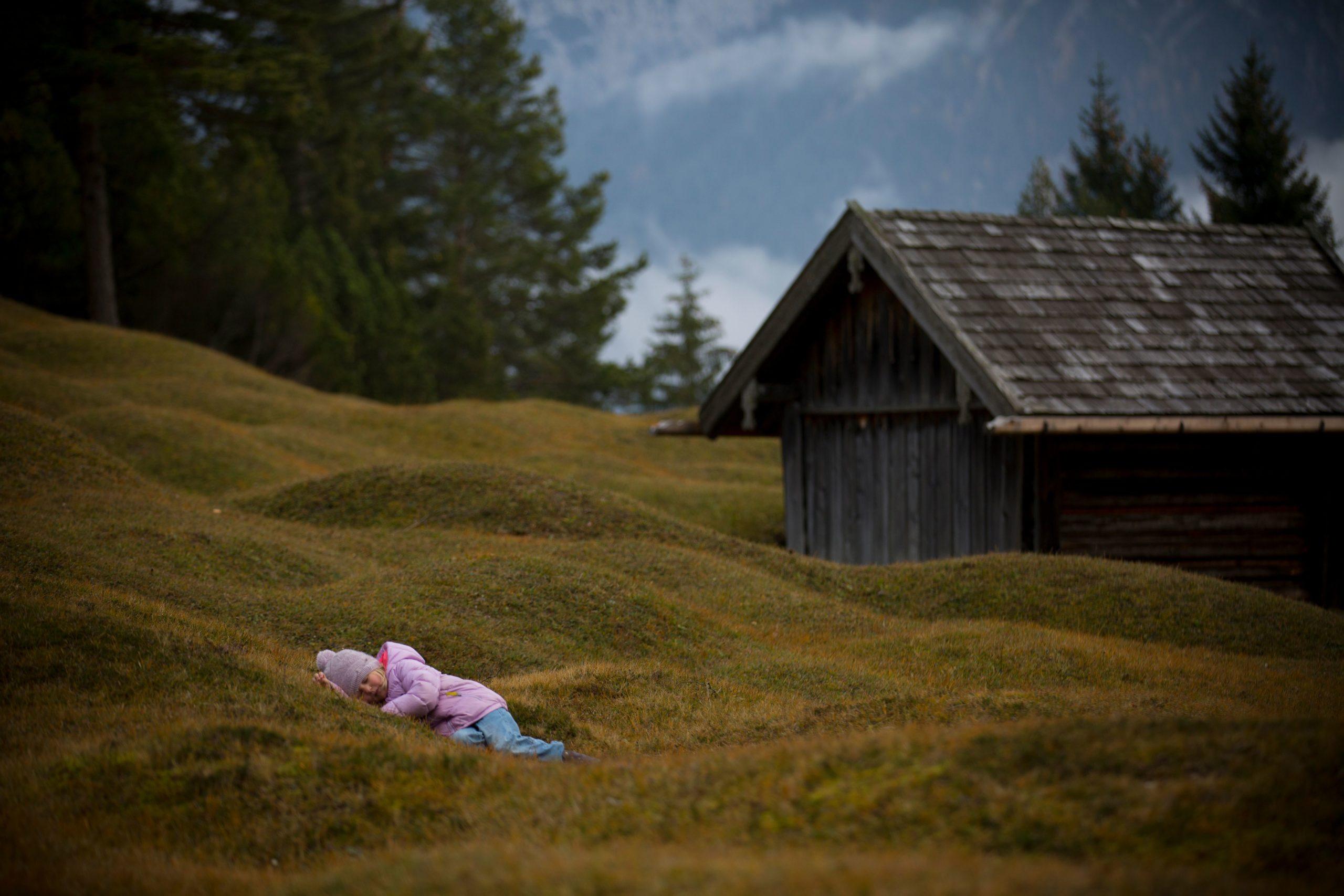 Träumen auf der Almwiese